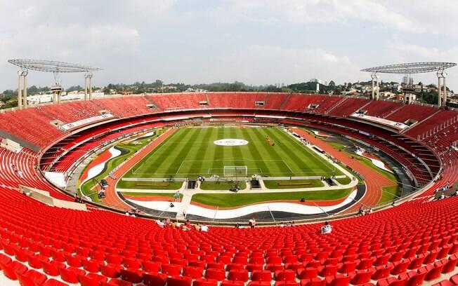 O clássico entre São Paulo e Corinthians foi  disputado no Morumbi