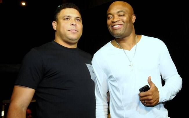 Ronaldo e Anderson Silva