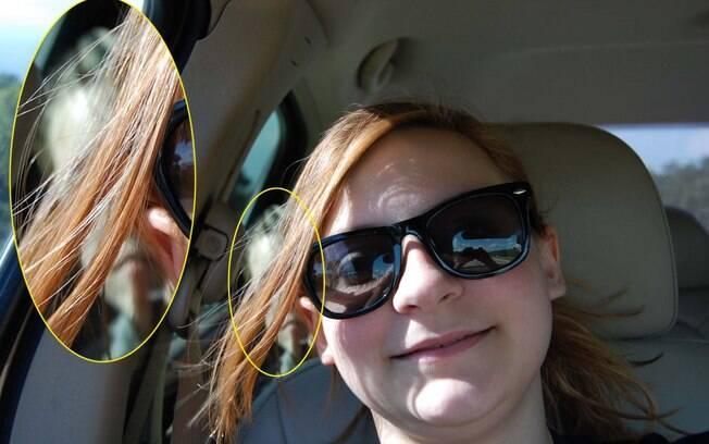 Melissa e sua filha ficaram assustadas ao perceber que havia um suposto