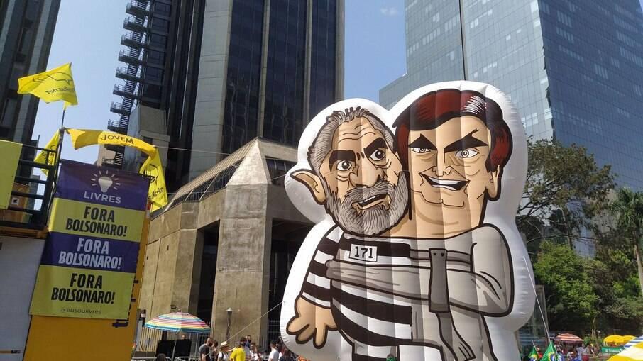 Manifestantes se concentraram na Avenida Paulista