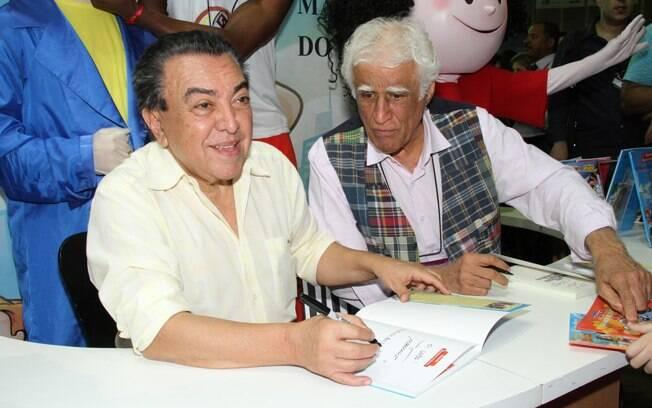 Maurício de Souza e Ziraldo também distribuíram autógrafos