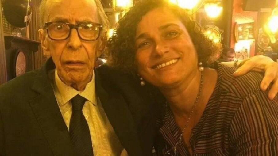 João Gilberto e Maria do Céu Harris