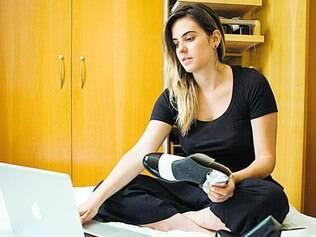 Tudo a seu tempo. Em 2015, a designer Marcela Torres vai se dedicar à sua própria marca de sapatos e planeja outras metas simples, como correr e fazer ioga ou dança
