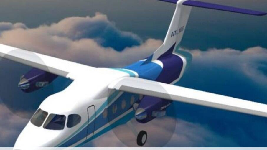 Velocidade máxima da aeronave é 430 km/h