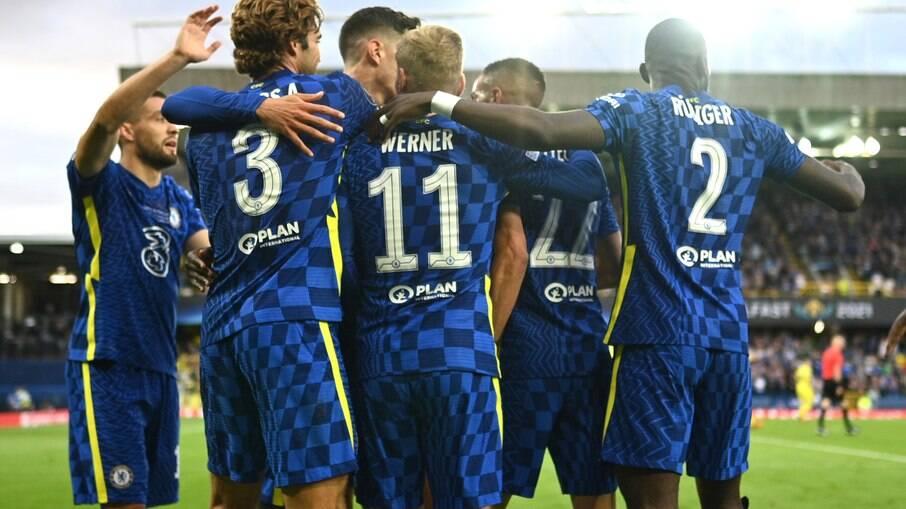Chelsea conquista a Supercopa da Uefa