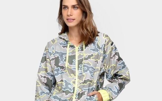 Jaqueta Adidas Stellasport Camo Feminina