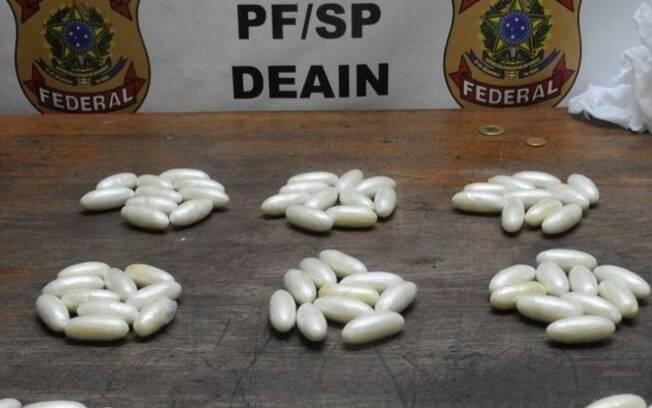 Polícia Federal apreendeu cocaína no Aeroporto de Guarulhos