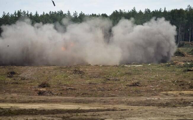 O piloto que sobreviveu disse que o acidente foi causado pela falha do sistema hidráulico do helicóptero. Foto: Anton Nasonov, RZN.info/Photo via AP