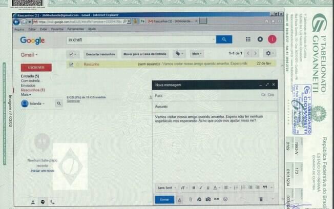 Mônica Moura diz que mantinha uma conta de e-mail com Dilma Rousseff para que pudessem falar sobre a Lava Jato