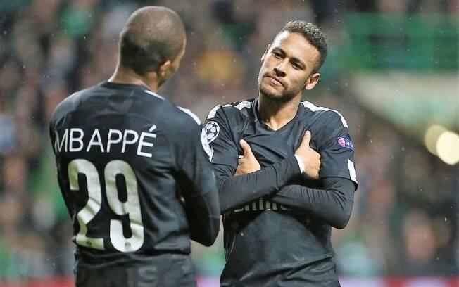 Neymar e Mbappé chegaram juntos ao PSG, no meio de 2017