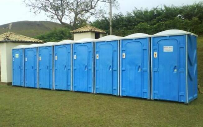 O banheiro químico pode representar vários perigos para a saúde