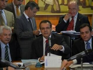 Presidente da Casa, Henrique Alves se reuniu com líderes do governo