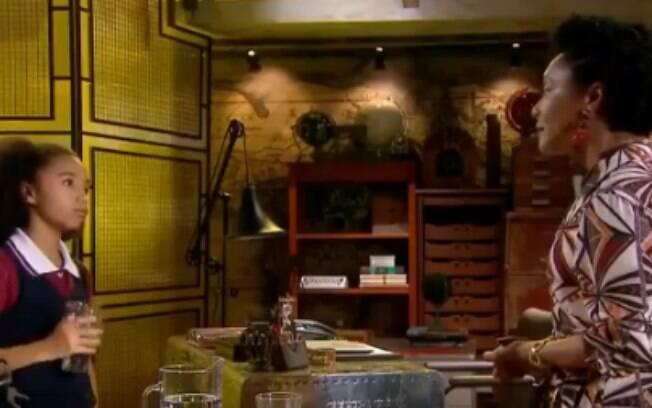 """Cena sobre racismo em novela do SBT """"As Aventuras de Poliana"""" causa polêmica na web"""