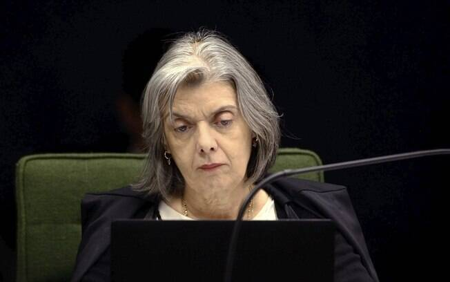 A ministra Cármen Lúcia, do Supremo Tribunal Federal (STF)