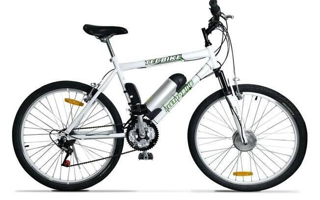Bicicleta, bike, elétrica