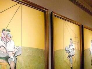 Cara. Tríptico de Francis Bacon se tornou a obra de arte mais cara já leiloada, por US$ 332,2 milhões