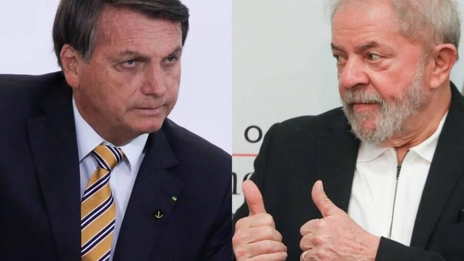 """Bolsonaro vê Lula roubar favoritismo, solta os cachorros no rival e detona: """"Filho do capeta"""""""