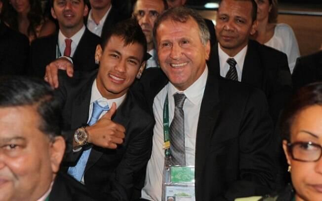 Neymar e Zico