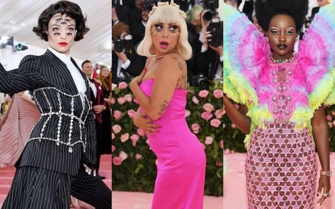 O tema do Met Gala 2019 foi moda camp, que foca na teatralidade, excentricidade e exagero; confira os looks dos famosos