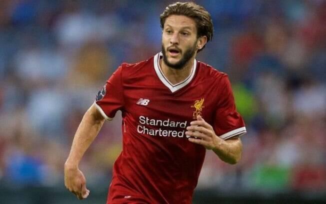Adam Lallana, jogador do Liverpool que defende a equipe inglesa desde 2014