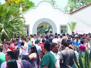 PUC Minas. Universidade foi um dos 167 pontos de aplicação do exame em Belo Horizonte
