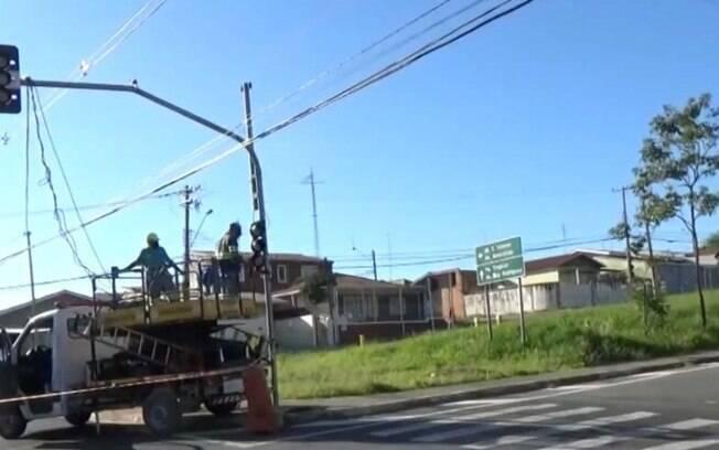 Ladrões furtam cabos de semáforo no mesmo local pela 3ª vez em Campinas