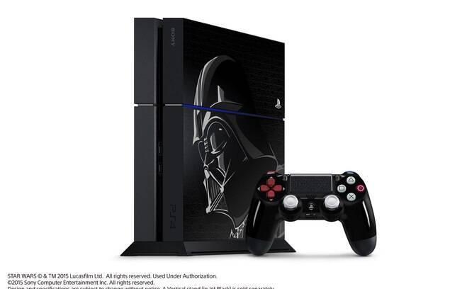 Edição Especial do PS4 com tema