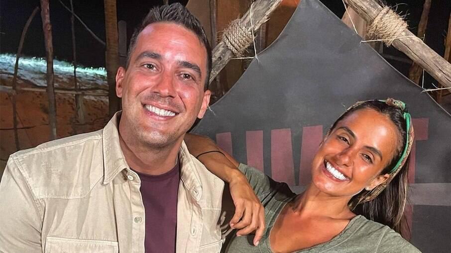 André Marques e Carol Peixinho