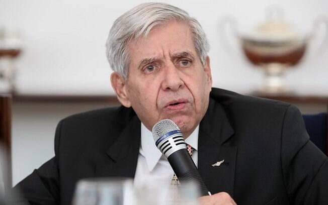 Ministro-chefe do Gabinete de Segurança Institucional, general Augusto Heleno