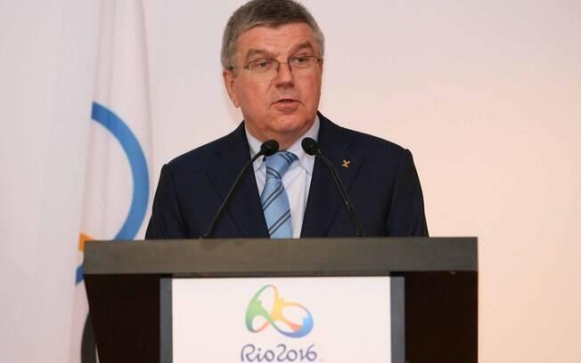 Thomas Bach, presidente COI