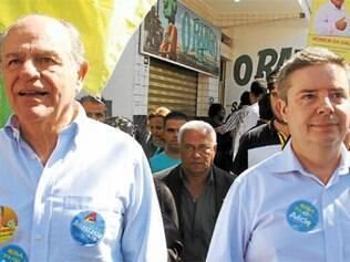 Pimenta da Veiga (PSDB), com Anastasia, tem feito críticas à gestão de Dilma Rousseff (PT)