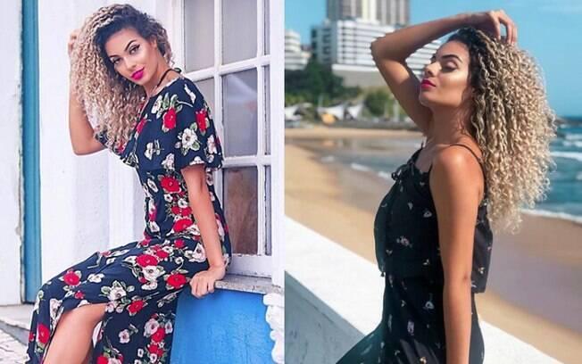 Blogueira baiana Jessica Dantas, de 24 anos, sabe misturar peças básicas do dia-a-dia com muito estilo