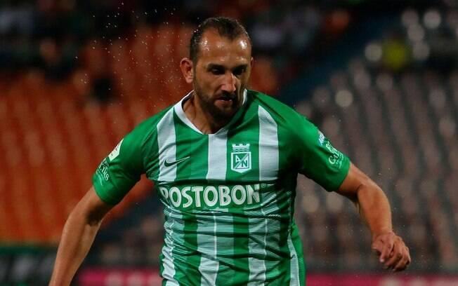 Hernán Barcos, atacante do Atlético Nacional