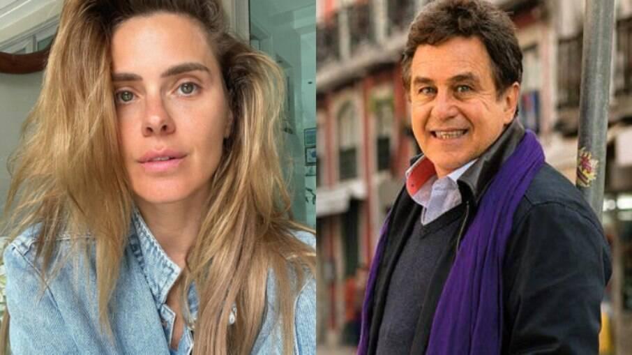 Carolina Dieckmann fala sobre relação com ex-marido, Marcos Frota