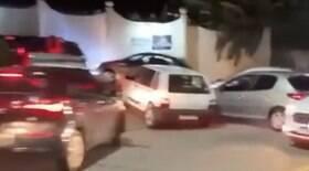 Fila de carros em motel gera congestionamento e suspeita de golpe; entenda