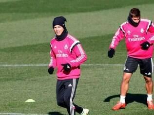 Cristiano Ronaldo e Lucas Silva estarão no jogo contra Atlético de Madrid