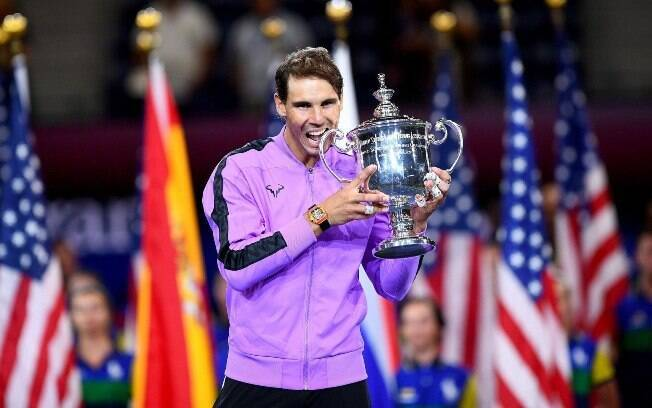 Rafael Nadal foi tetracampeão do US Open