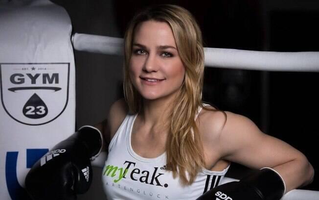 Boxeadora Nicole Wesner ficou em segundo na preferência dos homens alemães