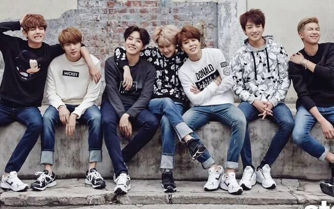 O fenômeno mundial BTS está no calendário do ano de lançamentos de k-pop
