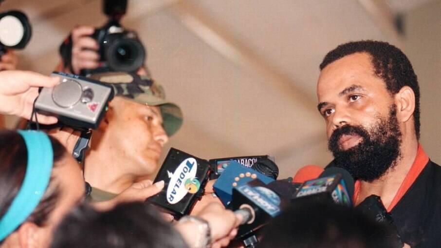 Fernandinho Beira-Mar em entrevista após ser preso