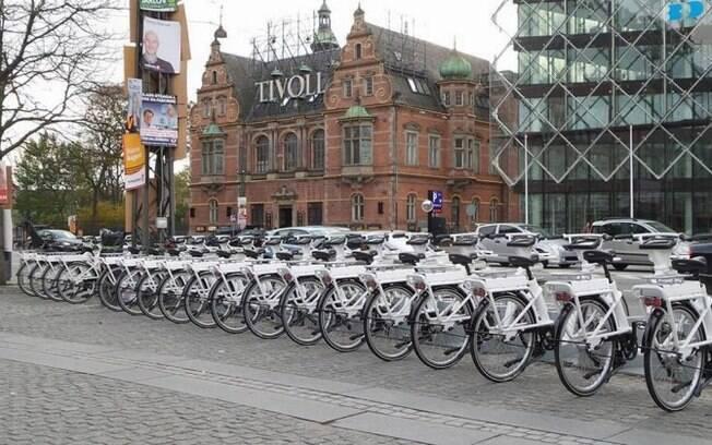 Bicicletas inteligentes em Copenhague
