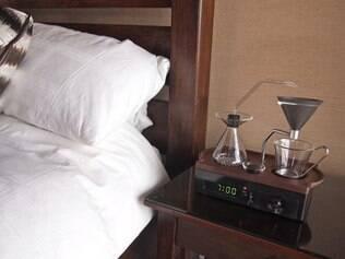 Despertador que faz café é a nova