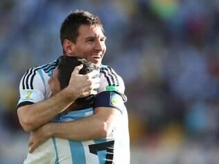 Messi tem sido decisivo, enquanto di María é o coadjuvante perfeito