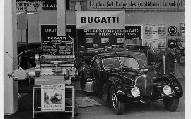 Bugatti Type 57 SC Atlantic de 1936