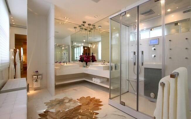 Prepare o banheiro para banhos perfeitos  Mirna Zambrana  iG -> Tamanho Ideal Banheiro Com Banheira