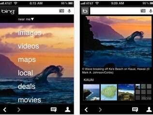 Aplicativo do Bing em HTML5 ganhou novos recursos