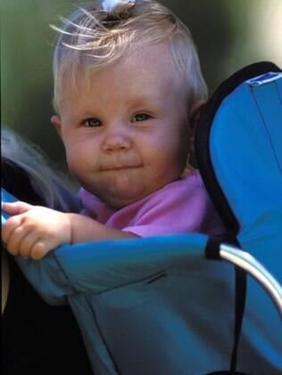Canguru: carregador estruturado só pode ser usado para bebês que já sustentam a cabeça
