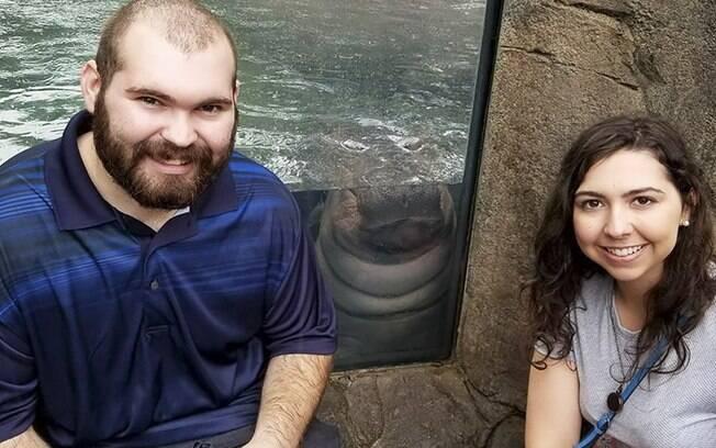 Nick e Hayley fizeram questão de tirar outra foto com Fiona