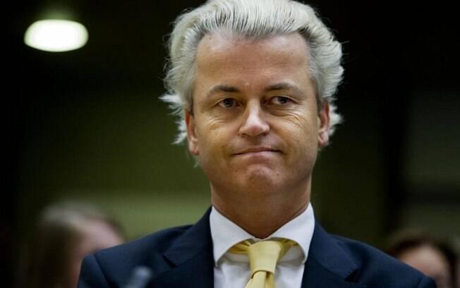 Candidato de extrema direita Geert Wilders ficou em segundo lugar nas eleições na Holanda, com 20 deputados