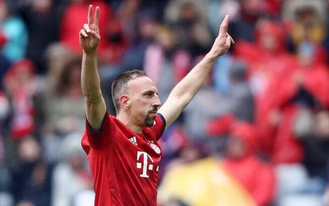 Ribéry não ficará no Bayern de Munique para a próxima temporada
